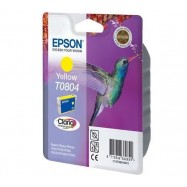 EPSON T0804 Y, kompatibilní cartridge, 15ml, yellow-žlutá