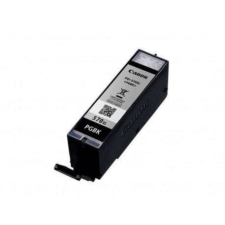 Canon PGI-570BK XL, kompatibilní cartridge, 0318C007, 22ml, 500 stran A4, Black - černá