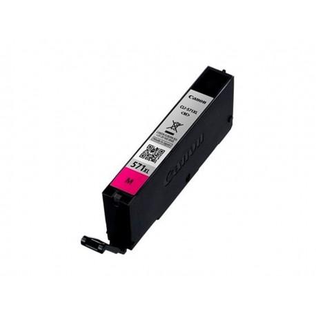 Canon CLI-571M XL, kompatibilní cartridge, 0333C001, 12ml, 715 stran A4, Magenta-purpur