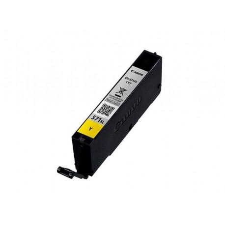 Canon CLI-571Y XL, kompatibilní cartridge, 0334C001, 12ml, 715 stran A4, Yellow - žlutá