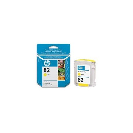 HP C4913, No.82 Y, kompatibilní cartridge, 69ml, yellow-žlutá