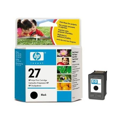 HP C8727A, No.27 BK, kompatibilní cartridge, 20ml, black-černá