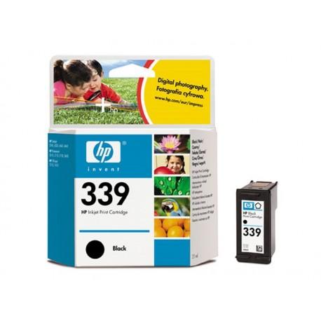 HP C8767E, No.339 BK, kompatibilní cartridge, 21ml, Black-černá, rt