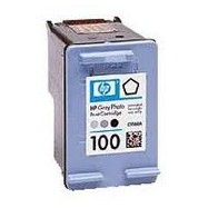HP C9368, No.100, kompatibilní cartridge, GREY PHOTO, 18ml, color