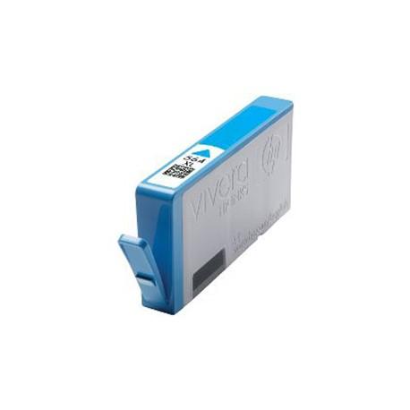 HP CB323EE, No.364 C XL no chip, kompatibilní cartridge, 15ml, cyan-azurová