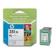 HP CB338, No.351XL COL, kompatibilní cartridge, 21ml, color-barevná