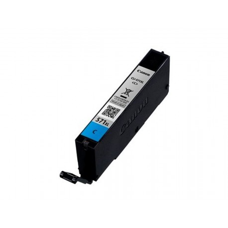 Canon CLI-571C XL, kompatibilní cartridge, 0332C001, 12ml, 715 stran A4, Cyan - azurová