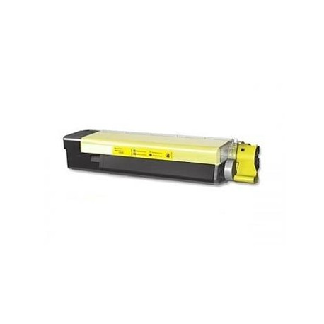 OKI 46507505, kompatibilní toner, C612 pro C612N, C612DN, YL, 6000s, Yellow - žlutá.