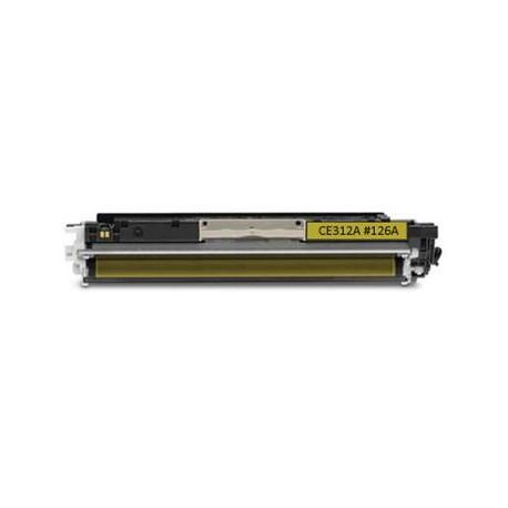 Canon CRG-729Y, kompatibilní toner, 4367B002, CRG729, CRG 729, 1 000s, Yellow - žlutá, pw
