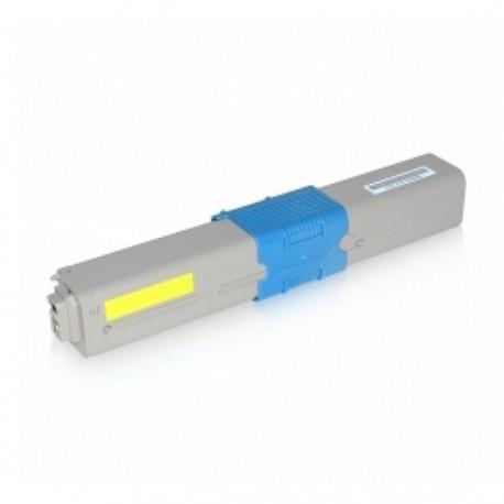 OKI 46508709, kompatibilní toner, C332, MC363, 3.000str. YL, Yellow - žlutý