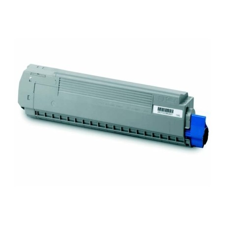 OKI MC851 (44059166), kompatibilní toner, MC851, MC861, 7.300str. MG, Magenta - purpurový.