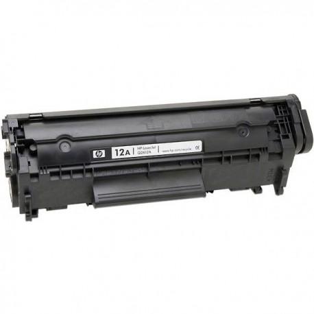 HP Q2612A, kompatibilní toner, HP 12A, Canon CRG703, 703, 2 000 stran, black - černá