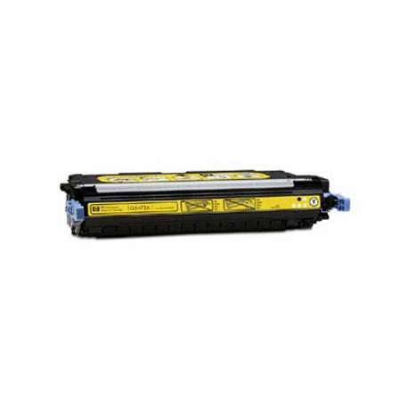 HP Q6472A, kompatibilní toner, HP 502A, 4 000 stran, yellow - žlutá