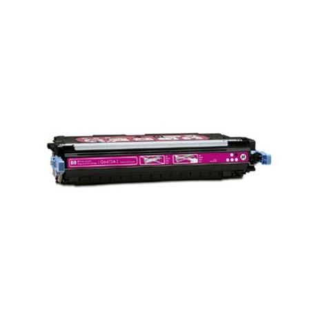 HP Q6473A, kompatibilní toner, HP 502A, 4000 stran, magenta-purpurová
