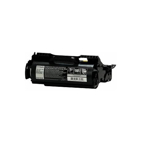 Lexmark 64016HE, kompatibilní toner, 21000s, black-černá