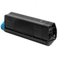 OKI 42127457, kompatibilní toner, C5250HC-BK, 5000s, black-černá