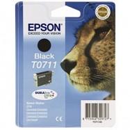 EPSON T0711, kompatibilní cartridge, T0891 Stylus BK, 15ml, black - černá