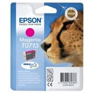 EPSON T0713, kompatibilní cartridge, T0893 Stylus Magenta, 12ml, magenta - purpurová