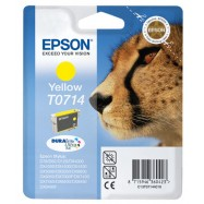 EPSON T0714, kompatibilní cartridge, T0894 Stylus Yellow, 12ml, yellow - žlutá