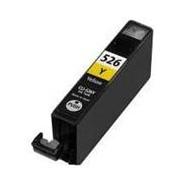 CANON CLI-526Y s čipem, kompatibilní cartridge, 10ml, žlutá