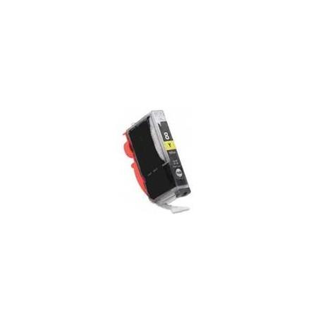 CANON CLI-8Y s čipem, kompatibilní cartridge, 14ml, žlutá