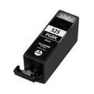 CANON PGI-525 BK s čipem, kompatibilní cartridge, 21ml, černá