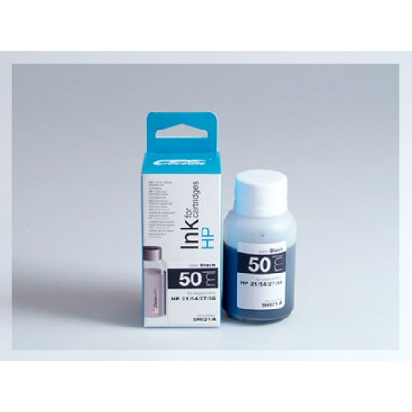 CROCODILE 5H021-A, 50ml samostatný inkoust pro HP C6656, 56-CB334, 54-C8727, 27-C9351,21,