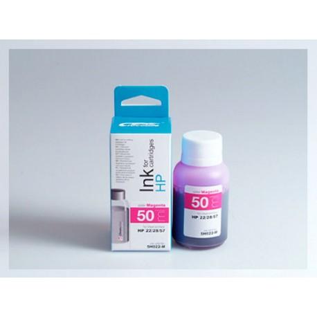CROCODILE 5H022-M, 50ml samostatný inkoust pro HP C8728, 28 - C6657, 57 - C9352, 22.