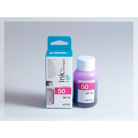 CROCODILE 5H078-M, 50ml samostatný inkoust pro HP C6578A, 78 - C6578D, 78.