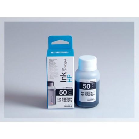 CROCODILE 5H338-A, 50ml samostatný inkoust pro HP C9362,336-C8765,338-C9364,337-C8767,339