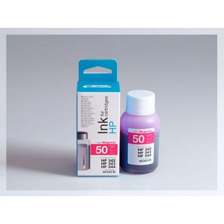 CROCODILE 5H343-M, 50ml samostatný inkoust pro HP C9361, 342 - C9363, 344 - C8766, 343.