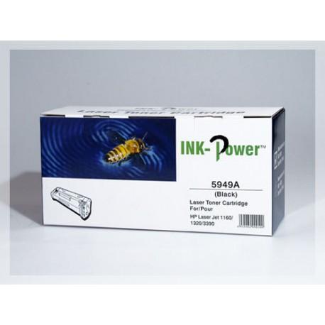 HP Q5949A, kompatibilní toner, HP 49A, 2500 stran, black - černá