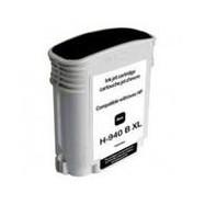 HP C4906AE, No.940 BK XL with chip, kompatibilní cartridge, 70ml, Black-černá