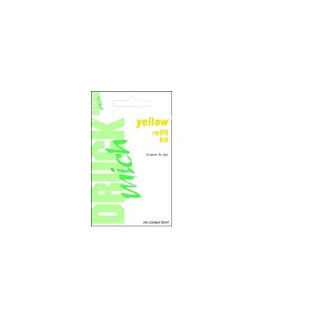 HP 6578 , 1823, 6625, č.78, č.23, č.17, plnící sada refill kit, Yellow - žlutá, 1 x 50ml