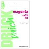 HP č.301, č.301XL, č.901, č.901XL, plnící sada refill kit, Magenta - purpurová, 50ml