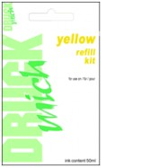 CANON CL-511, CL511, CL-513, CL513, plnící sada, Yellow - žlutá, 1 x 50ml