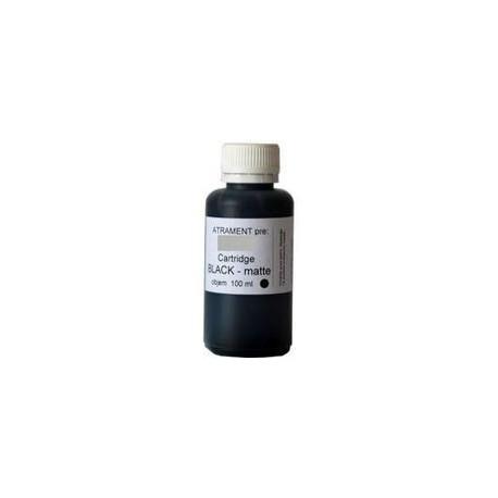 Inkoust HP 100ml BK pro plnění kazet (HP) Hewlett-Packard, pigmentový, černý