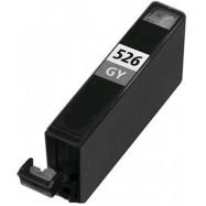 CANON CLI-526GY s čipem, kompatibilní cartridge, 10ml, Grey - šedá