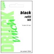 Universální plnící sada Refill kit pro EPSON 100ml, Black - černá