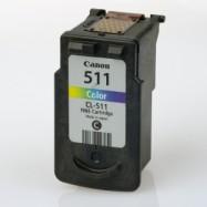 Canon CL-511, CL-513, kompatibilní cartridge, Vysoká kapacita, Color - barevná
