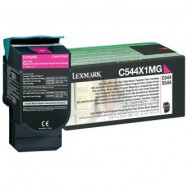 Lexmark C544X1CG, kompatibilní toner, C544, X544, C546, X546, 4000s, MAGENTA, purpurová