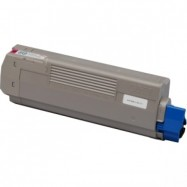 OKI 44315306, kompatibilní toner, C610 MG, 6000s, magenta - purpurová