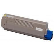 OKI 44315305, kompatibilní toner, C610 YL, 6000s, yellow - žlutá