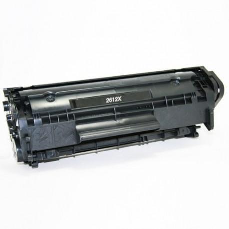 HP Q2612X, kompatibilní toner, HP 12X, Canon CRG703, 703, 3 000 stran, black - černá