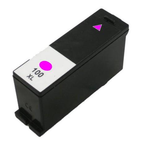 LEXMARK 14N1070E, No.100XL MG, kompatibilní cartridge, Magenta - purpurová
