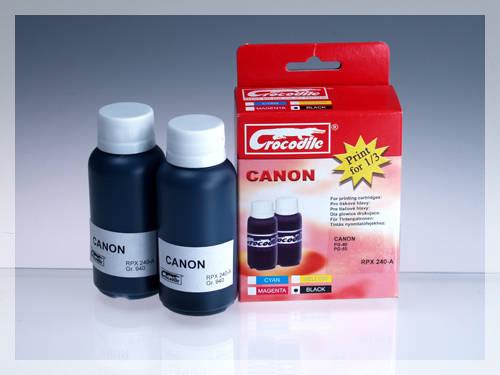 CROCODILE RPX 240-A, 200ml samostatný inkoust pro CANON PG-50, PG-40, PG-37.