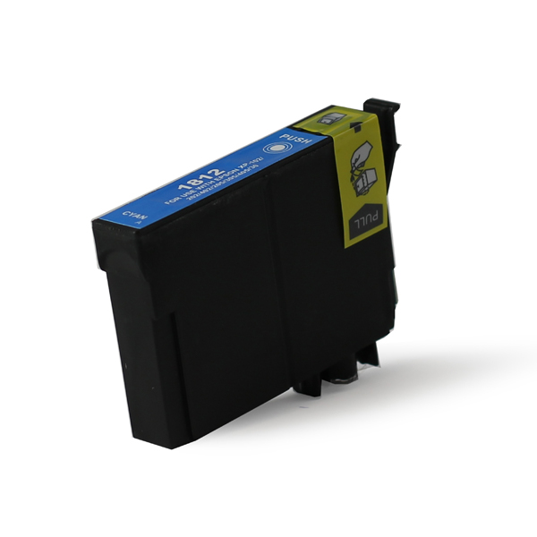 EPSON T1812 CXL, kompatibilní cartridge, 18XL, vysoká kapacita inkoustu, 12ml, azurová