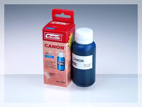 CROCODILE RPX 180-C, 100ml samostatný inkoust pro CANON CLI-8C.