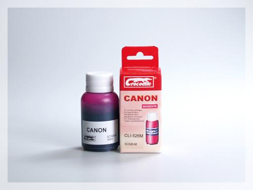 CROCODILE 5C526-M, 50ml samostatný inkoust pro CANON CLI-526M.