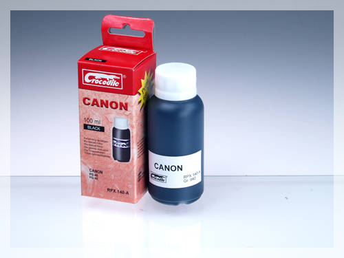 CROCODILE RPX 140-A, 100ml samostatný inkoust pro CANON PG-50, PG-40, PG-37.